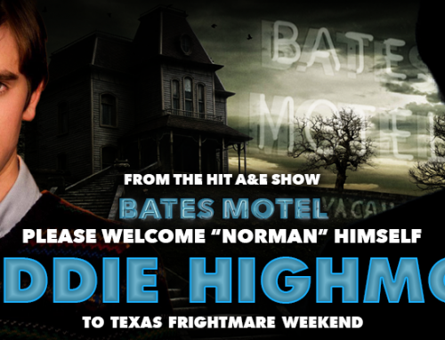 Meet Bates Motel Star Freddie Highmore at Texas Frightmare Weekend