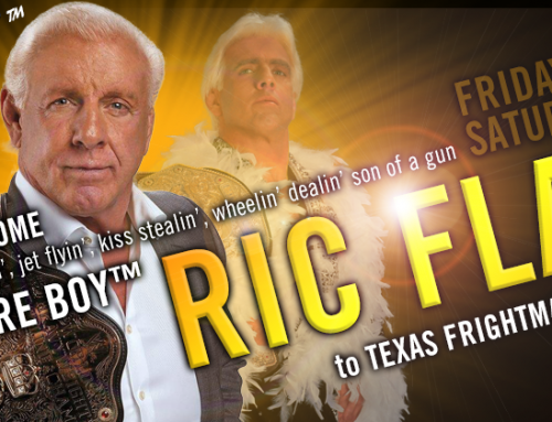 Meet Ric Flair The Nature Boy at Texas Frightmare Weekend