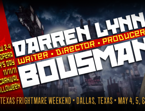 SAW Director Darren Bousman is Coming to TFW 2018