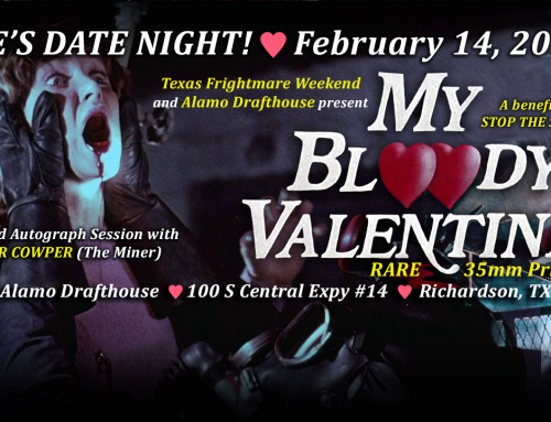 My Bloody Valentine Date Night at the Alamo Drafthouse!