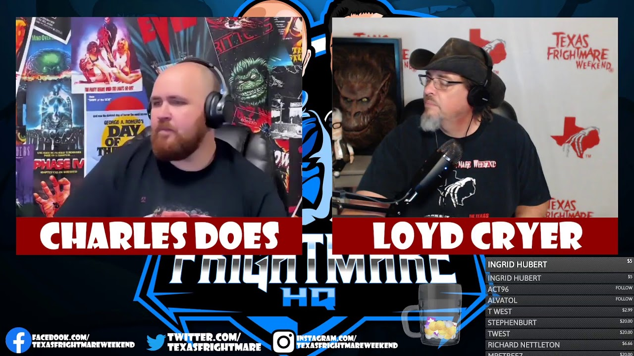 Father Evil LIVE on Frightmare HQ!